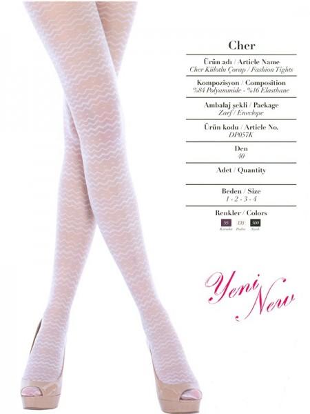 PENTİ Desenli Külotlu Çorap