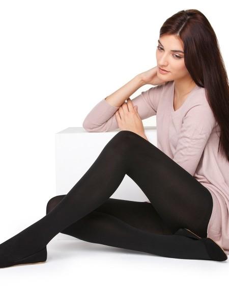 PENTİ Bayan Düz Termal Külotlu Çorap