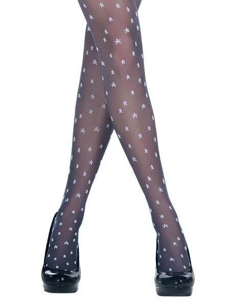 PENTİ Star Desenli Külotlu Çorap