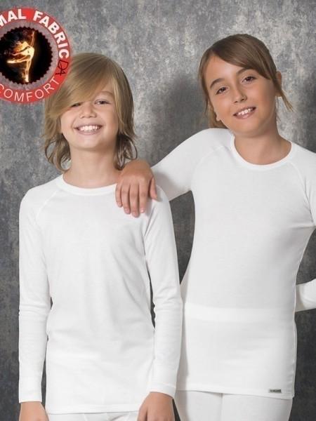 DOREANSE Viloft Uzun Kol Termal T-Shirt