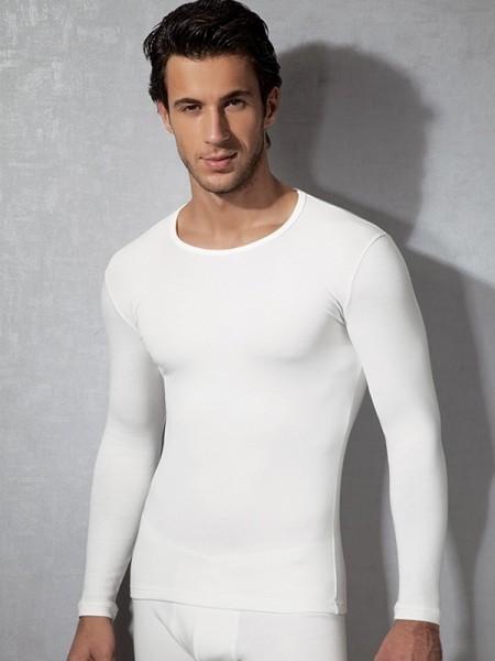 DOREANSE Termal Viskon Likralı Uzun Kol T-Shirt