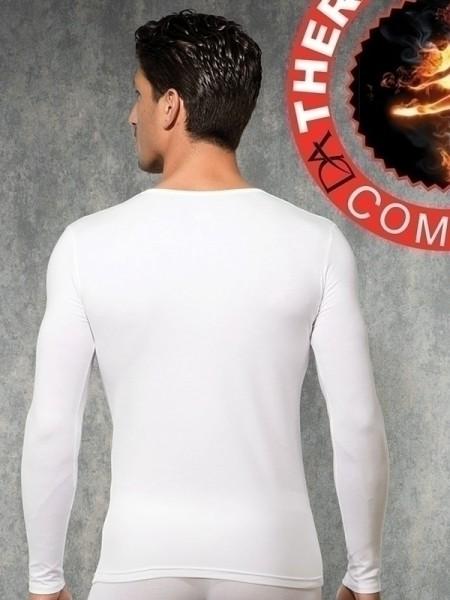 DOREANSE Viloft Erkek Termal V Yaka T-Shirt