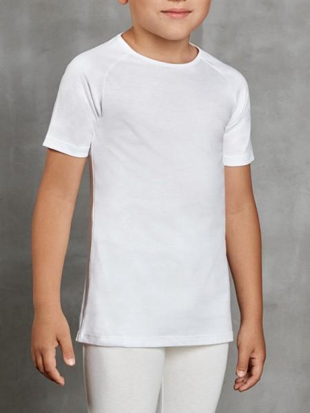 DOREANSE Viloft İnce Termal Unisex Çocuk T-Shirt