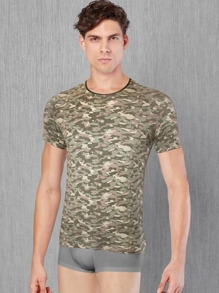 DOREANSE Kamuflaj T-Shirt