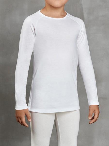 DOREANSE Viloft İnce Termal Unisex Çocuk Uzun Kol T-Shirt