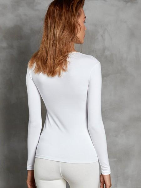 DOREANSE Viloft İnce Termal Kadın Uzun Kol T-Shirt