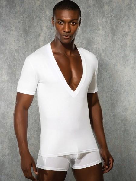 DOREANSE Likralı Modal Erkek T-Shirt
