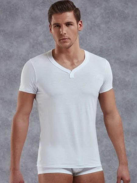 DOREANSE Likralı Mikro Modal Erkek T-Shirt