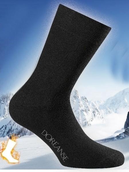 Düz Örgü Termal Erkek Çorap