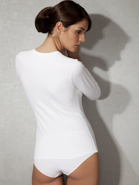 Likralı Modal Kadın T-Shirt