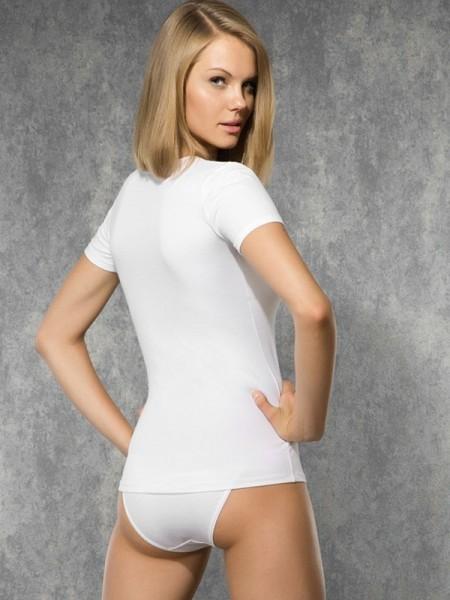 DOREANSE Likralı Modal Bayan T-Shirt