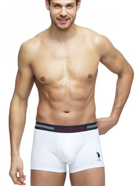 3'lü Paket Likralı Polyesterli Erkek Boxer